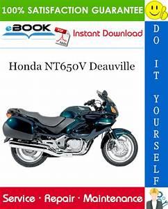 Best  U2606 U2606 Honda Nt650v Deauville Motorcycle Service Repair