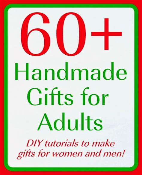 homemade christmas favors for adults best 25 handmade gifts ideas on diy gifts