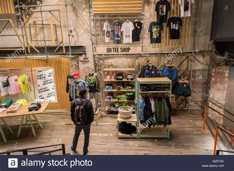 An Urban Outfitters retail store in Herald Square in New York on Stock Photo Royalty Free Image ...