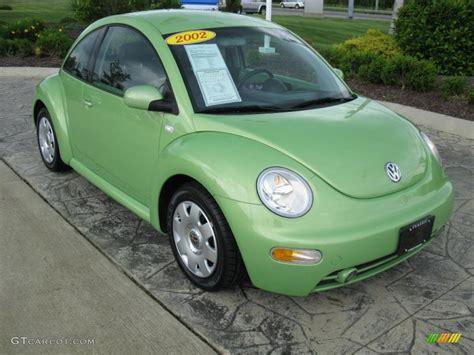 volkswagen green 2002 cyber green metallic volkswagen new beetle gls coupe