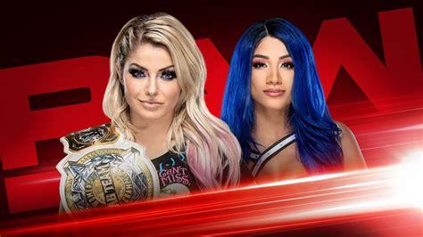 wwe womens tag team champion alexa bliss battles sasha