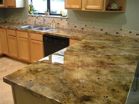 faux marble countertop how to provide your countertop a faux granite look