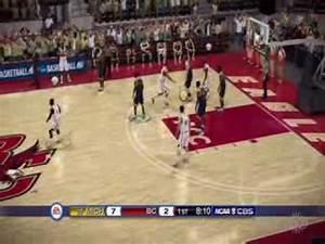 NCAA Basketball 10 - Michigan vs. Boston College Gameplay ...
