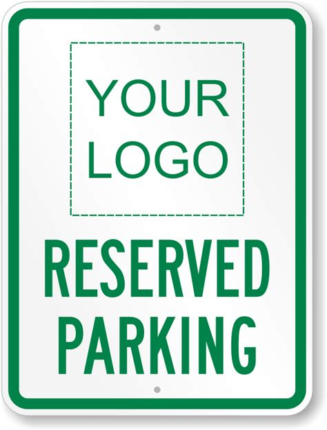 reserved sign template large no parking signs custom stock templates