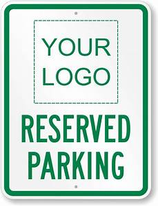large no parking signs custom stock templates With reserved parking signs template
