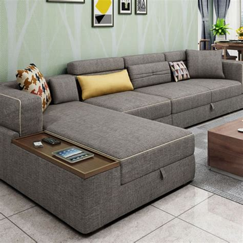 Living Room L Sydney by L Shape Sofa Set With Storage Baci Living Room Living