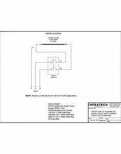Infratech Surface Mount Simple On  Off Switch Assemblies With Weatherproof Cover For Exposed