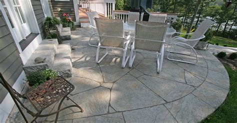 patio cement ideas concrete patio patio ideas backyard designs and photos the concrete network