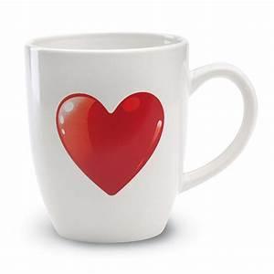 Kaffeetasse Mit Herz : tasse mit herz bedruckbar mit firmenlogo m nchen ~ Yasmunasinghe.com Haus und Dekorationen