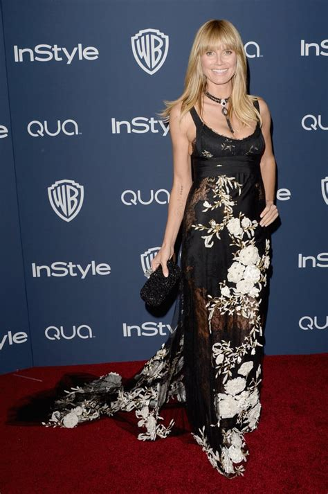 Celebrities Golden Globes Instyle After Party