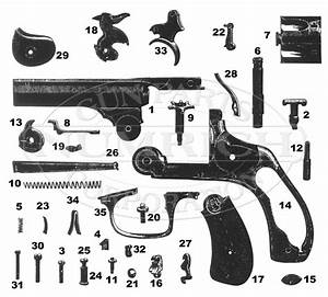 38 Double Action Revolver Schematic