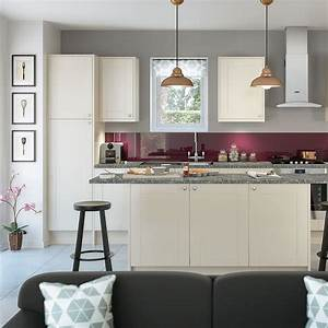 shaker cream kitchen style kitchens magnet trade With kitchen colors with white cabinets with where to buy city sticker