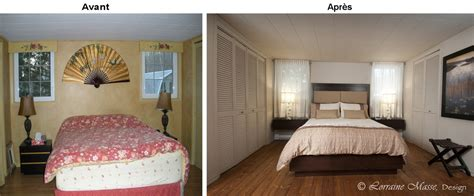chambre des maitres moderne avant après lorraine masse designer intérieur
