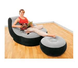 Ultimate Dorm Lounger & Foot Rest