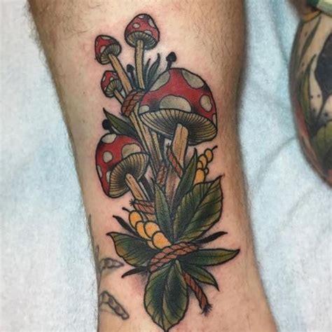 Pilz Tattoos  20 Ideen Mit Bedeutung