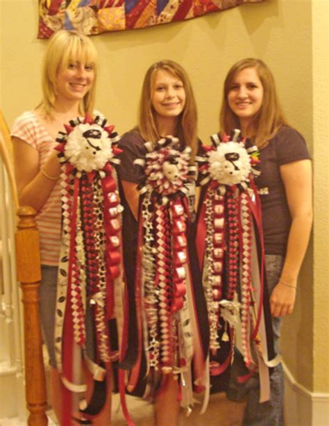Texas Homecoming Mums