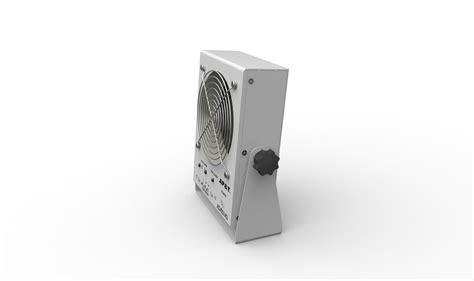 som ionizado industrial do equipamento da descarga eletrost 225 tica de ventilador de ar