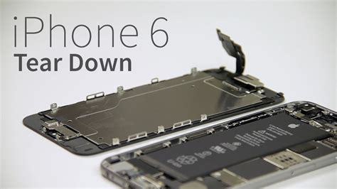 iphone  teardown slim elegant   english