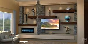 Custom Media Wall & Home Entertainment Center Design