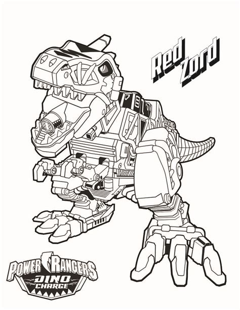 8 power rangers coloring pages on