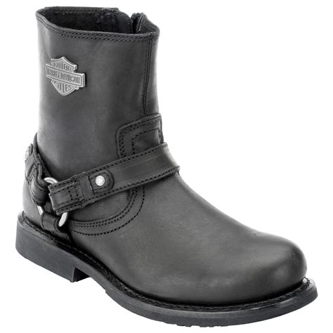 harley boots harley davidson mens scout leather boots black