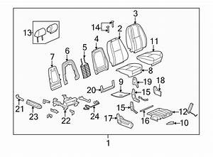 Gmc Yukon Xl 2500 Power Seat Wiring Harness  Passenger