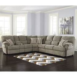 ashley comfort commandor 3 piece power sleeper sectional in mocha 99303 01 77 70 kit