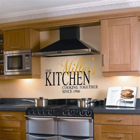 Kitchen Decor Vinyl by Kitchen Vinyl Wall Quotes Quotesgram