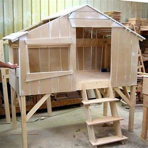 Cabane Pour Poule : plan lit cabane plan lit lit lit construire lit cabane montessori maison et chaise ~ Melissatoandfro.com Idées de Décoration