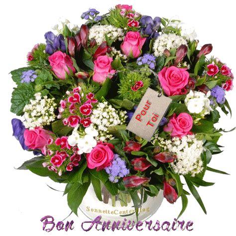 bouquet de fleurs anniversaire photo bon anniversaire