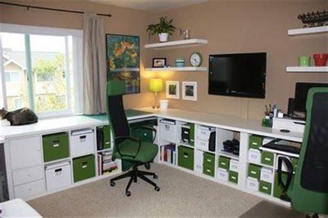 ikea hack schreibtisch 3 x vika amon tabletop 78 quot 3 x expedit shelves 2x4 flat braces drawer pull 10x1 board