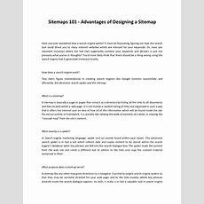 Sitemaps 101 Advantages Of Designing A Sitemap