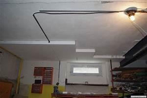 Postup lepení polystyrenu na strop