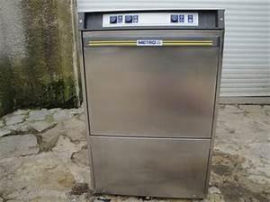 Lave Vaisselle Metro : laves vaisselle frontaux professionnels en france ~ Premium-room.com Idées de Décoration