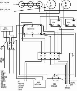 Franklin Electric Pump Controller Model 2823 Wiring Diagram