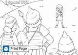 David Goliath Coloring Pages Printable Samuel Said Sling Niv Philistine sketch template