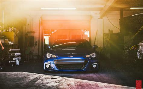 Car Garage Wallpaper by Subaru Brz Car Garage Wallpaper Other Wallpaper Better