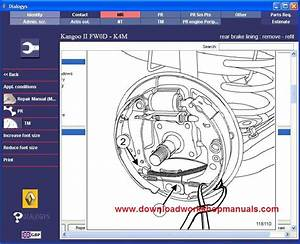 Renault Kangoo Wiring Electric Diagrams 2002 2009