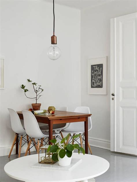 Folding dining room tables help save space