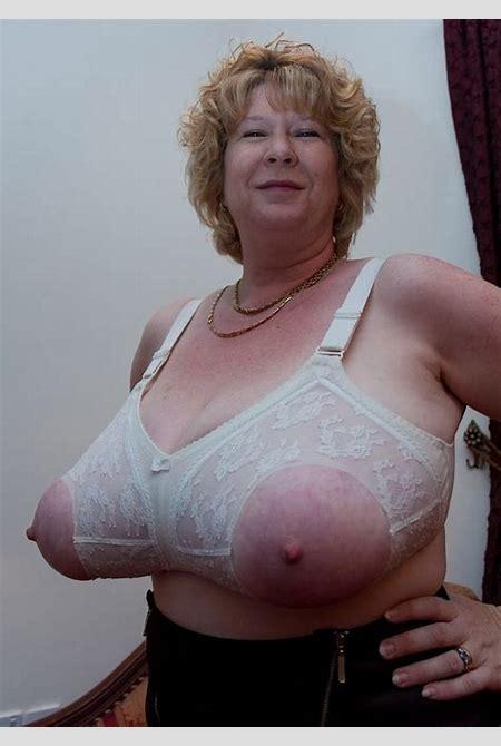 Granny mature oma in bra or lingerie III - PornHugo.Com