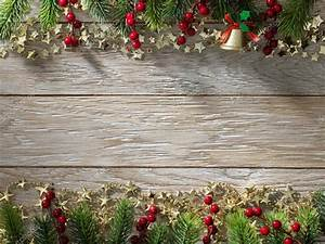 Christmas fir tree on wood texture background old panels