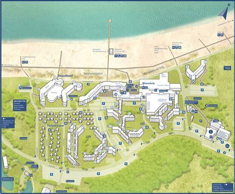 ferienpark weissenhaeuser strand kaart plattegrond de
