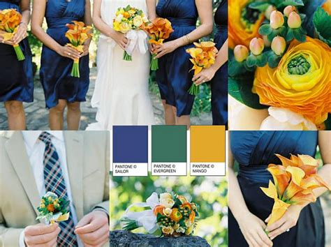 what does royal blue look like navy blue and yellow wedding yellow flower bouquets navy 9633
