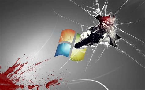 Windows Anime Wallpaper - broken screen wallpaper windows 10 wallpapersafari