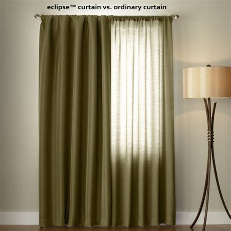 Eclipse Blackout Curtains 95 Inch by Eclipse Grommet Blackout Window Curtain Panel 95