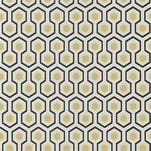 Papier Peint Art Deco : papier peint hicks 39 hexagon cole and son david hicks ~ Dailycaller-alerts.com Idées de Décoration