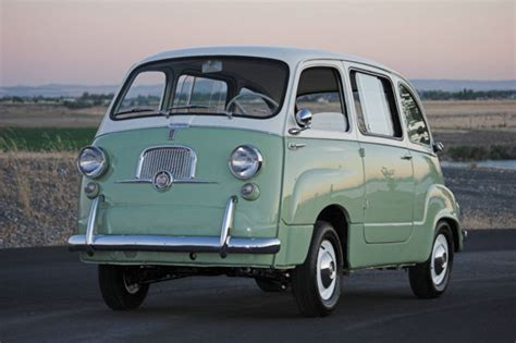 Fiat 600 Multipla For Sale by 1957 Fiat 600 Multipla W Lucas Lights For Sale Photos