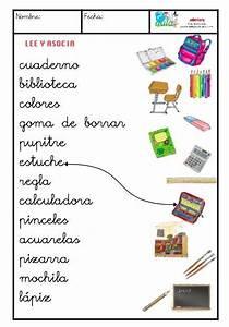 material escolar minúscula VOCABULARIO Pinterest