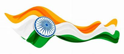 Republic India Clipart Flag Indian Drapeau