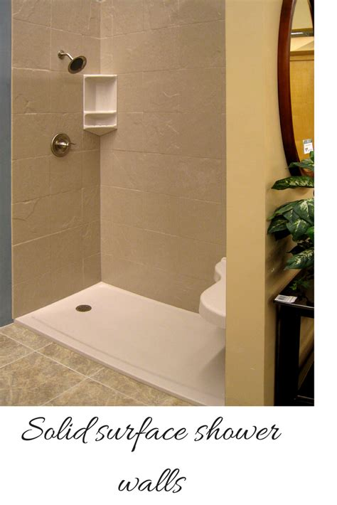 Bathroom Shower Walls - how to compare grout free shower and tub wall panels